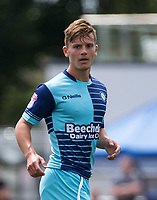 Dominic Gape of Wycombe Wanderers during the pre season friendly match between Slough Town and Wycombe Wanderers at Arbour Park Stadium, Slough, England on 8 July 2017. Photo by Andy Rowland.