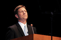 Greg Stanton became the 52nd Mayor of the City of Phoenix. Mayor Stanton was inaugurated on Tuesday, January 3, 2012 at the historic Orpheum Theater. He took the oath of office from former Arizona Governor Rose Mofford. Mr. Stanton defeated opponent Wes Gullett on the November 8, 2011 election. The new mayor is a 41-year-old attorney, is married to Nicole France Stanton, and they have two children. Mayor Stanton is the first new mayor in eight years, and he is replacing former Mayor Phil Gordon. Photo by Eduardo Barraza © 2012