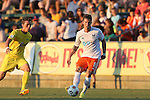 01 August 2015: Carolina's Wes Knight. The Carolina RailHawks hosted the Tampa Bay Rowdies FC at WakeMed Stadium in Cary, North Carolina in a North American Soccer League 2015 Fall Season match. The game ended in a 1-1 tie.