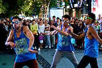 Cuervo Records Dancers and Sydney CBD, 26.12.12