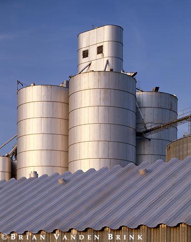 Grain Elevators.Blair, Nebraska