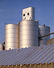 Grain Elevators.Blair, Nebraska