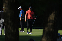 Brooks Koepka (USA) after sinking his putt on 11 during round 2 of the Fort Worth Invitational, The Colonial, at Fort Worth, Texas, USA. 5/25/2018.<br /> Picture: Golffile | Ken Murray<br /> <br /> All photo usage must carry mandatory copyright credit (&copy; Golffile | Ken Murray)