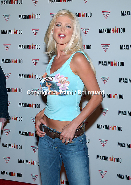 Victoria Silvstedt arriving at the HOT 100 party organize by Maxim  at Yamashiro restaurant in Los Angeles. April 25, 2002. ©          -            SilvstedtVictoria01A.jpg