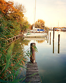 AUSTRIA, Weiden Am See, Lakefront view in Seepark, Burgenland