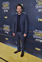 """HOLLYWOOD - SEPTEMBER 24: Charlie Day attends the red carpet premiere event for FXX's """"It's Always Sunny in Philadelphia"""" Season 14 at TCL Chinese 6 Theatres on September 24, 2019 in Hollywood, California. (Photo by Stewart Cook/FXX/PictureGroup)"""
