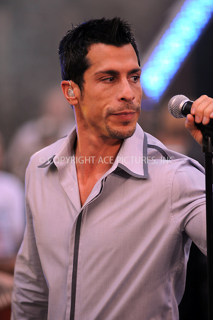 WWW.ACEPIXS.COM . . . . .....September 4, 2008. New York City.....Singer Danny Wood of the New Kids on the Block performs on NBC's 'Today Show' on September 4, 2008 in New York City...  ....Please byline: Kristin Callahan - ACEPIXS.COM..... *** ***..Ace Pictures, Inc:  ..Philip Vaughan (646) 769 0430..e-mail: info@acepixs.com..web: http://www.acepixs.com