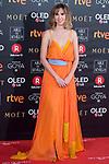 Aida Clotet attends red carpet of Goya Cinema Awards 2018 at Madrid Marriott Auditorium in Madrid , Spain. February 03, 2018. (ALTERPHOTOS/Borja B.Hojas)
