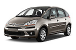 Front three quarter view of a 2006 - 2012 Citroen C4 Picasso Business Mini MPV.