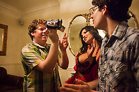 "Zack Pearlman, left, and Matt Bennett in Columbia Pictures' comedy ""The Virginity Hit."""