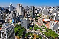 Vale do Anhangabau no centro de Sao Paulo. 2010. Foto de Juca Martins.