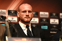 George Groves during a Press Conference at the Landmark Hotel on 11th October 2017