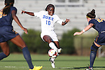 06 September 2013: Duke's Toni Payne. The Duke University Blue Devils hosted the West Virginia University Mountaineers at Koskinen Stadium in Durham, NC in a 2013 NCAA Division I Women's Soccer match. The game ended in a 1-1 tie after two overtimes.