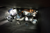 Pictures showing dead soldiers of World War I is on display at Flanders Fields Museum in Ypres, West Flanders, Belgium, August 26, 2014. 2014 marks 100th anniversary of the Great War.
