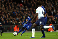 Ngolo Kante of Chelsea during Tottenham Hotspur vs Chelsea, Caraboa Cup Football at Wembley Stadium on 8th January 2019