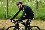 Chris Froome (GBR) Team Ineos during another wet Stage 2 of the Criterium du Dauphine 2019, running 180km from Mauriac to Craponne-sur-Arzon, France. 9th June 2019<br /> Picture: ASO/Alex Broadway | Cyclefile<br /> All photos usage must carry mandatory copyright credit (© Cyclefile | ASO/Alex Broadway)