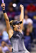 7th September 2017, Flushing Meadows, New York, USA;  MADISON KEYS (USA) during day eleven match of the 2017 US Open on September 07, 2017 at Billie Jean King National Tennis Center, Flushing Meadow, NY.