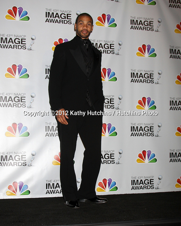 LOS ANGELES - FEB 17:  Aaron D Spears in the Press Room of the 43rd NAACP Image Awards at the Shrine Auditorium on February 17, 2012 in Los Angeles, CA