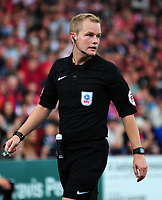 Referee Gavin Ward<br /> <br /> Photographer Andrew Vaughan/CameraSport<br /> <br /> The EFL Sky Bet League Two - Lincoln City v Morecambe - Saturday August 12th 2017 - Sincil Bank - Lincoln<br /> <br /> World Copyright &copy; 2017 CameraSport. All rights reserved. 43 Linden Ave. Countesthorpe. Leicester. England. LE8 5PG - Tel: +44 (0) 116 277 4147 - admin@camerasport.com - www.camerasport.com