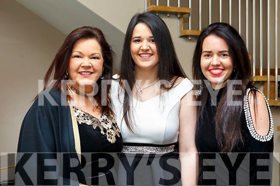 Killarney trio, Angela, Olwyn and Melissa Trant attending the Brides of Kerry Awards in the Ballyroe Heights Hotel on Sunday evening last.
