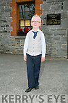 Morgan O'Flaherty from the Dennehy School Of Dancing in Lixnaw at the 55th Féile Cheoil Step dancing competitions at the Ceolann building Lixnaw on Saturday