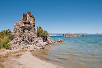 tufas, Mono Lake; Mono Basin National Forest Scenic Area, California, USA.  Photo copyright Lee Foster.  Photo # california120973