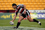 Niva Ta'auso scores his first half try. Air NZ Cup week 4 game between the Counties Manukau Steelers and Northland played at Mt Smart Stadium on the 19th of August 2006. Northland won 21 - 17.