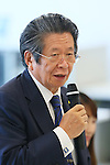 Keiichi Tadaki, SEPTEMBER 29, 2015 : The first meeting of the Tokyo 2020 Emblems Selection Committee is held in Tokyo, Japan. This committee initiated the selection of the new Olympic and Paralympic Games emblems. (Photo by Yohei Osada/AFLO SPORT)