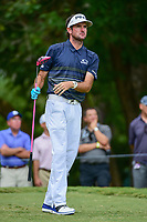Bubba Watson (USA) watches his tee shot on 5 during Friday's round 2 of the PGA Championship at the Quail Hollow Club in Charlotte, North Carolina. 8/11/2017.<br /> Picture: Golffile | Ken Murray<br /> <br /> <br /> All photo usage must carry mandatory copyright credit (&copy; Golffile | Ken Murray)