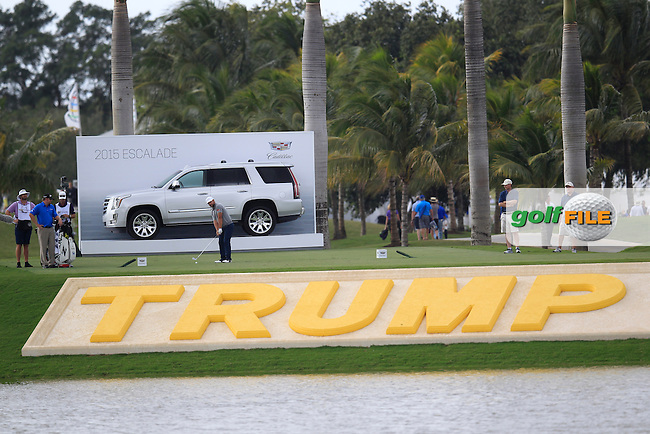 Ryan Moore (USA) during the 3rd round at the WGC Cadillac Championship, Blue Monster, Trump National Doral, Doral, Florida, USA<br /> Picture: Fran Caffrey / Golffile