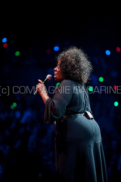 American soul singer Angie Stone at the Night Of The Proms in Antwerp (Belgium, 10/11/2011)