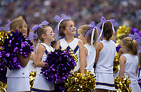 The 2017 Husky Cheer squad got a little extra support from their young fans.
