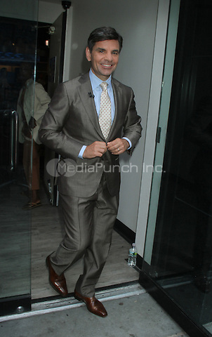 July 26, 2012 George Stephanopoulos host of  Good Morning America in New York City.Credit:© RW/MediaPunch Inc.
