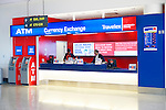 Airport currence exchange kiosk Travelex at Toronto Pearson international airport
