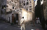 Yemen Sana'a, Corner street