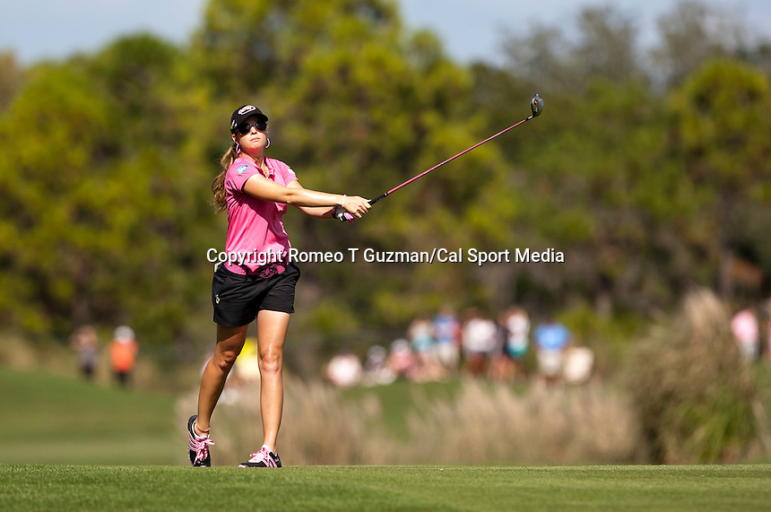 November 20, 2011: Paula Creamer during final round golf action from the CME Group Titleholders held at The Grand Cypress Resort, Orlando, Fla.