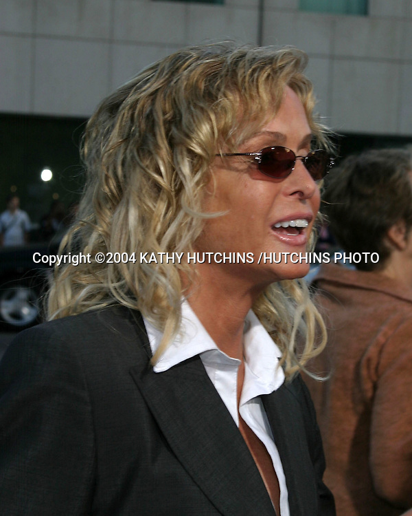 "©2004 KATHY HUTCHINS /HUTCHINS PHOTO.PREMIERE OF ""MANCHURIAN CANDIDATE"".BEVERLY HILLS, CA.JULY 21, 2004..FARRAH FAWCETT"