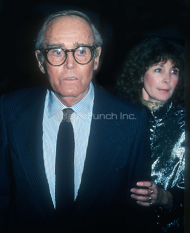 Henry and Shirley Fonda 1977<br /> Photo By John Barrett/PHOTOlink.net / MediaPunch