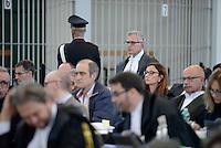 Roma, 19 Novembre 2015<br /> Avvocato Francesco Missori.<br /> Aula bunker di Rebibbia<br /> Terza udienza del processo Mafia Capitale, Roma Capitale, avvocati,
