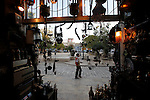 Al-Hatab square, the first public space developed by a German group in the Christian quarter of Aleppo, Syria is seen from a gift shop on November 07, 2010. (Salah Malkawi for The New York Times)