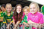 Jodie Sheehan (Fossa) Sarah Sheehan (Fossa) Doireann Dore (Kilcummin) and Susan Coffey Tuosist at Kerry GAA family day at Fitzgerald Stadium on Saturday.