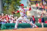 4 March 2013: St. Louis Cardinals pitcher Randy Choate on the mound during a Spring Training game against the Minnesota Twins at Roger Dean Stadium in Jupiter, Florida. The Twins shut out the Cardinals 7-0 in Grapefruit League play. Mandatory Credit: Ed Wolfstein Photo *** RAW (NEF) Image File Available ***