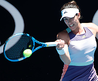 29th January 2020; Melbourne Park, Melbourne, Victoria, Australia; Australian Open Tennis, Day 10; Garbine Muguruza of Spain during her match against Anastasia Pavlyuchenkova of Russia