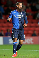 Lewis Grabban of Nottingham Forest during Charlton Athletic vs Nottingham Forest, Sky Bet EFL Championship Football at The Valley on 21st August 2019