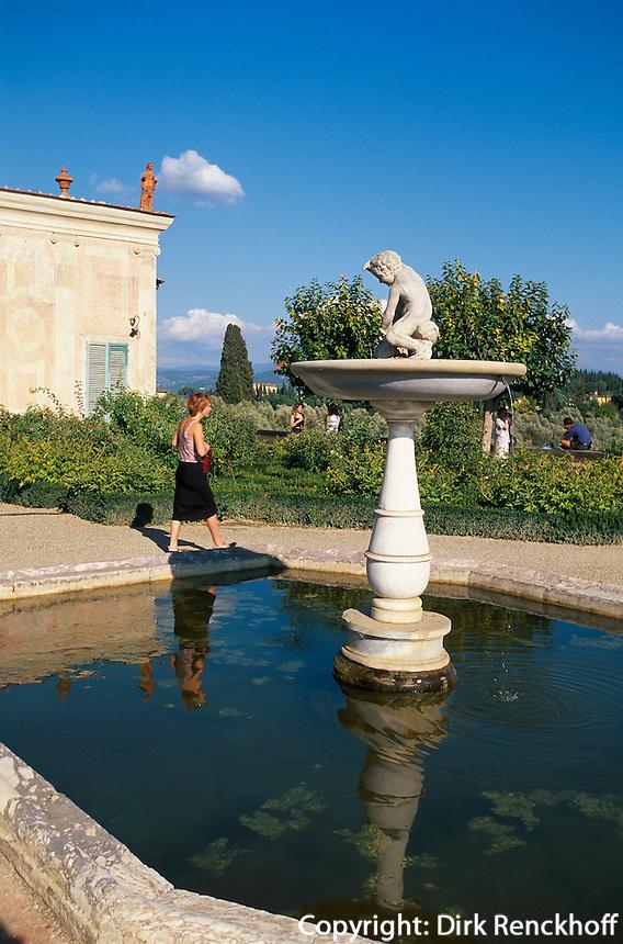 Forte di Belvedere, Florenz, Toskana, Italien, Unesco-Weltkulturerbe