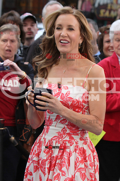 May 11, 2012 Felicity Huffman at Good Morning America  in New York City discussing her time on Desperate Housewives. Credit: RW/MediaPunch Inc.