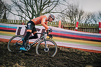 an unstoppable Mathieu Van Der Poel (NED/Correndon-Circus) on his way to a well deserved rainbow jersey<br /> <br /> Men's Elite race<br /> <br /> UCI 2019 Cyclocross World Championships<br /> Bogense / Denmark<br /> <br /> ©kramon