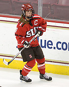 Tara Akstull (St. Lawrence - 7) - The visiting St. Lawrence University Saints defeated the Boston College Eagles 4-0 on Friday, January 15, 2010, at Conte Forum in Chestnut Hill, Massachusetts.