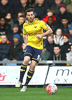 John Mullins of Oxford United   during the Emirates FA Cup 3rd Round between Oxford United v Swansea     played at Kassam Stadium  on 10th January 2016 in Oxford