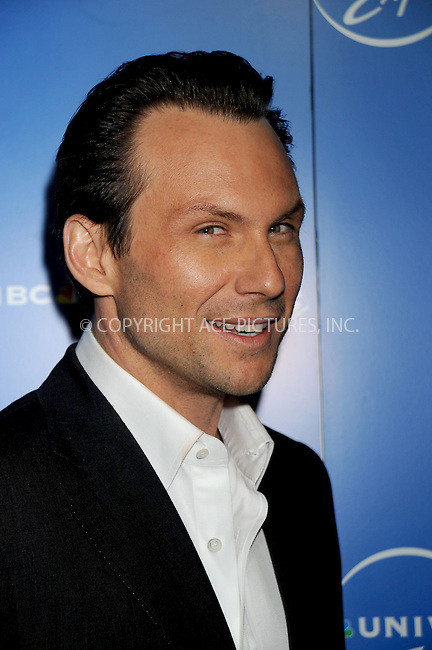 WWW.ACEPIXS.COM . . . . .....May 12, 2008. New York City.....Actor Christian Slater attends the NBC Universal Experience at Rockefeller Center.  ....Please byline: Kristin Callahan - ACEPIXS.COM..... *** ***..Ace Pictures, Inc:  ..Philip Vaughan (646) 769 0430..e-mail: info@acepixs.com..web: http://www.acepixs.com
